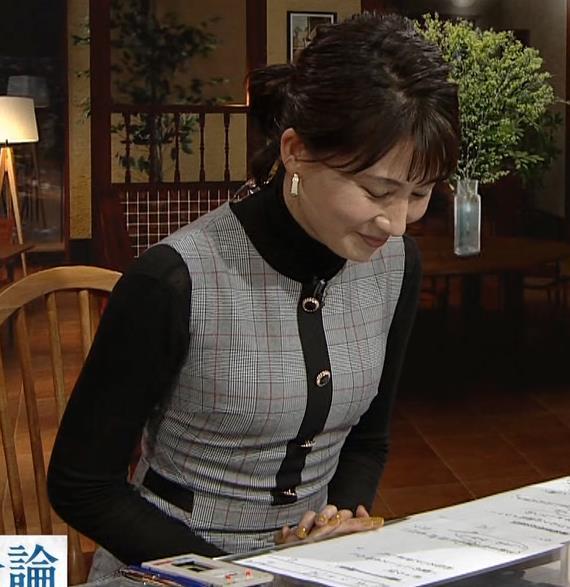 井上あさひアナ ピチピチな衣装キャプ・エロ画像9