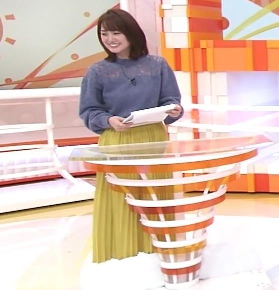 井上清華アナ 一応、透け衣装キャプ・エロ画像4