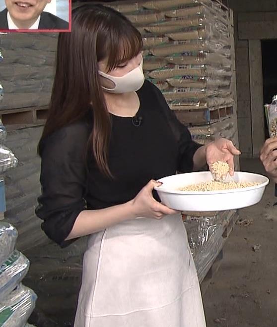角谷暁子アナ 巨乳横乳♡キャプ・エロ画像7