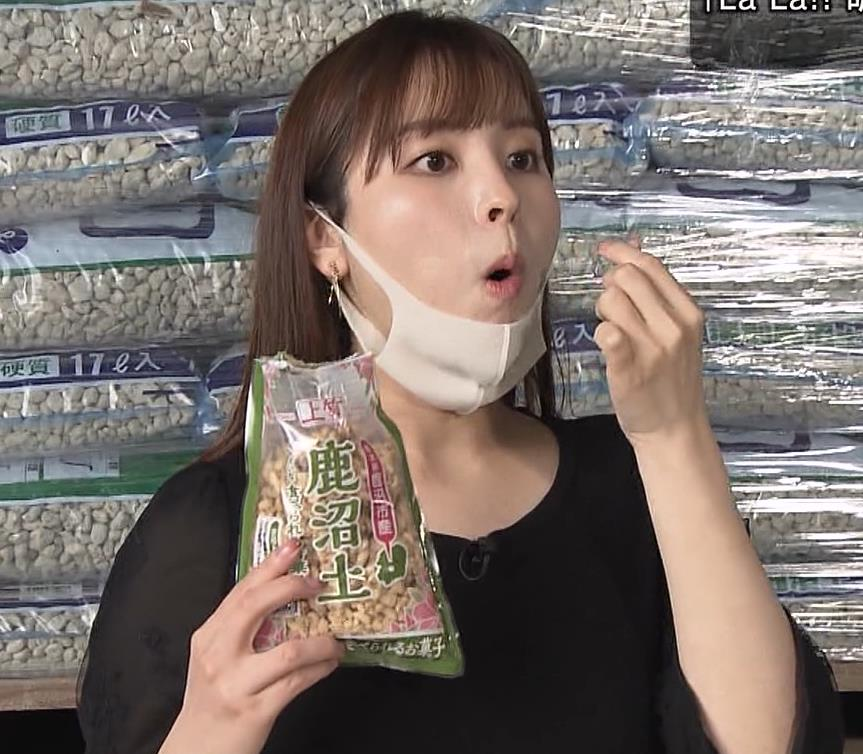 角谷暁子アナ 巨乳横乳♡キャプ・エロ画像10