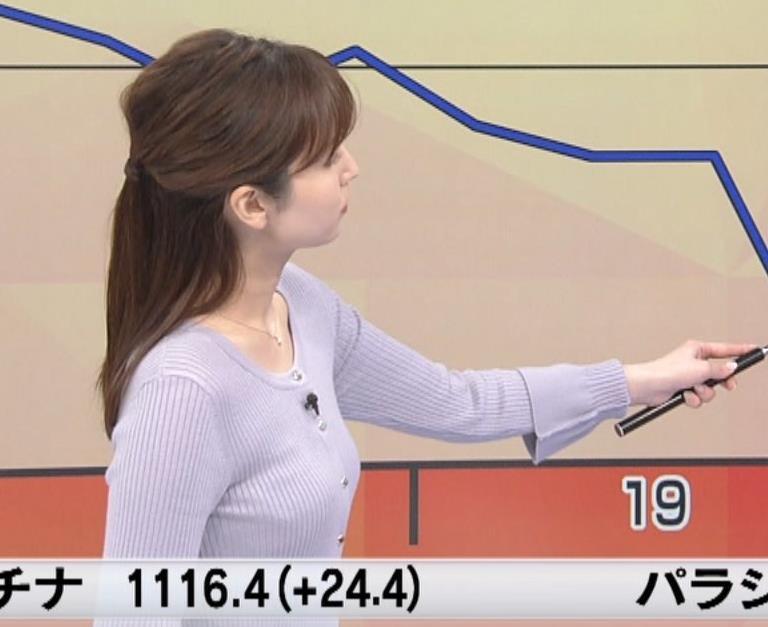 アナ エッチなボディラインキャプ・エロ画像