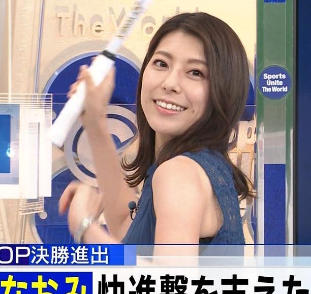 上村彩子アナ ニットおっぱいキャプ・エロ画像6