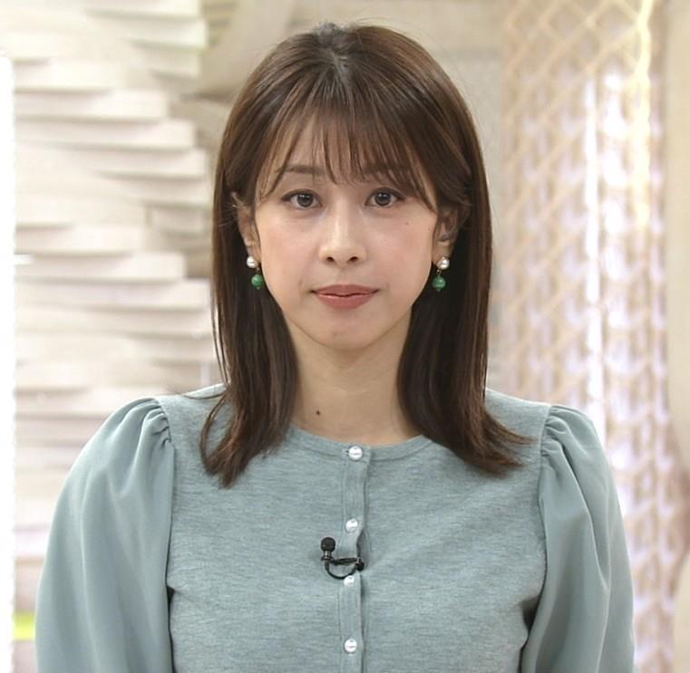 加藤綾子 ロングスカートキャプ・エロ画像2