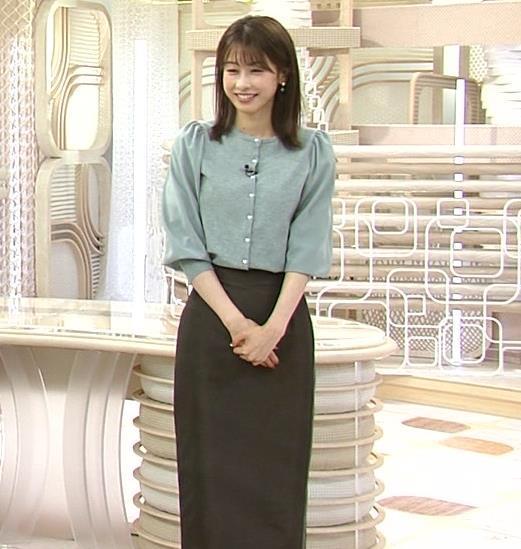 加藤綾子 ロングスカートキャプ・エロ画像5