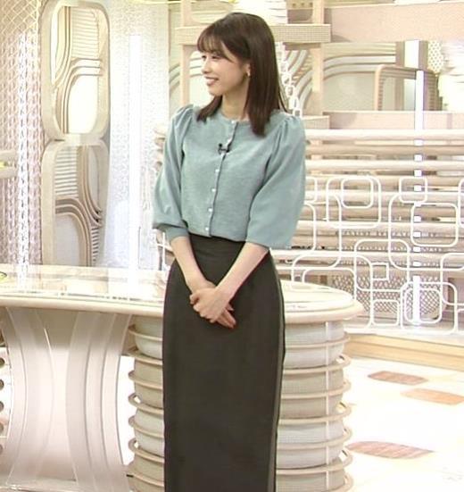 加藤綾子 ロングスカートキャプ画像(エロ・アイコラ画像)