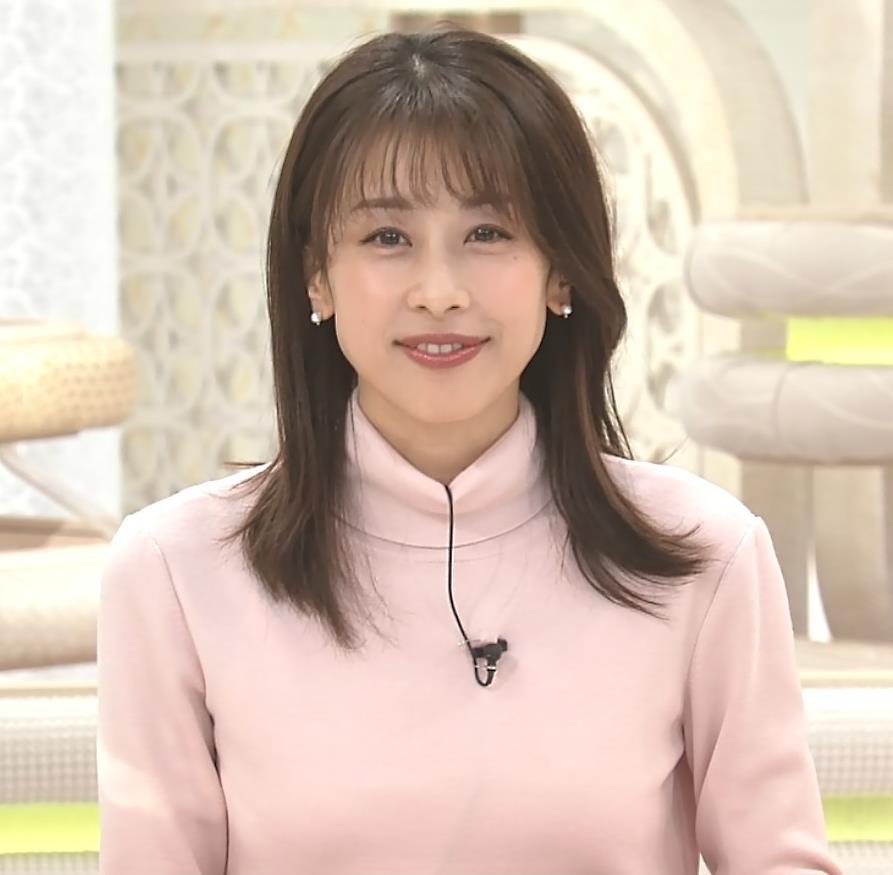 加藤綾子 エロかわいいニットおっぱいキャプ・エロ画像8