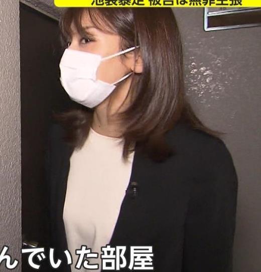 加藤綾子 マスク姿キャプ画像(エロ・アイコラ画像)