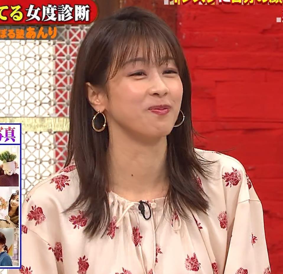 加藤綾子 ゆるふわワンピースキャプ・エロ画像