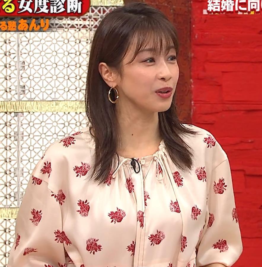 加藤綾子 ゆるふわワンピースキャプ・エロ画像6