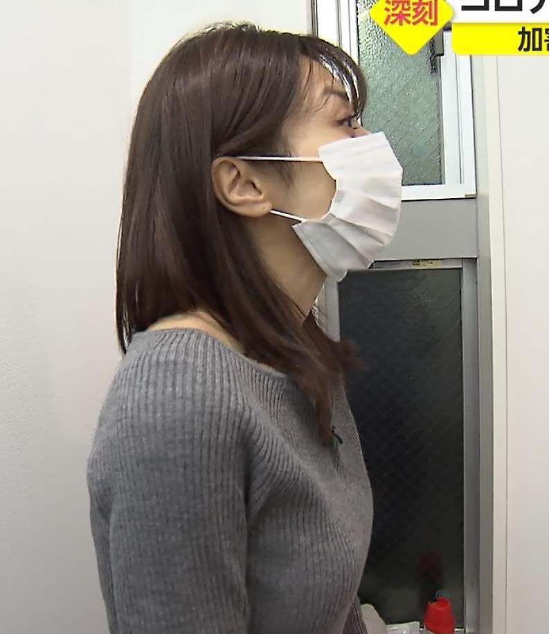 アナ ニット乳についてキャプ・エロ画像6