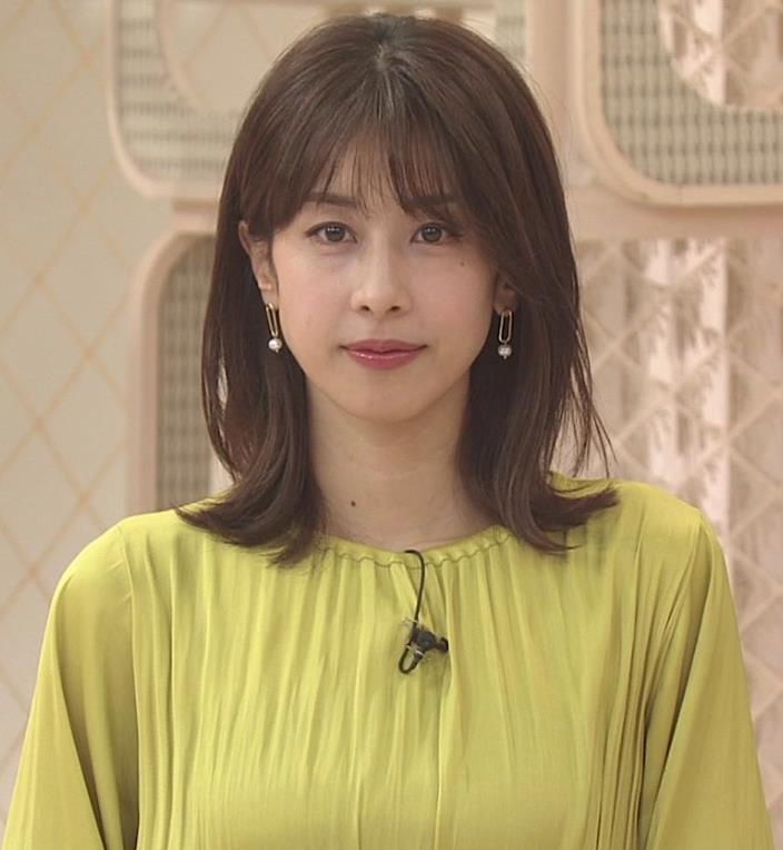 加藤綾子 胸のふくらみキャプ・エロ画像2