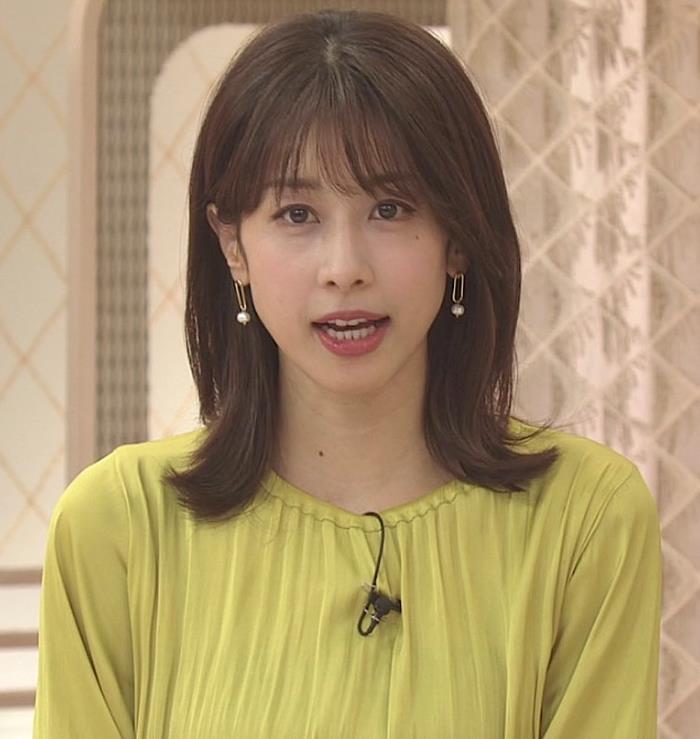 加藤綾子 胸のふくらみキャプ・エロ画像3