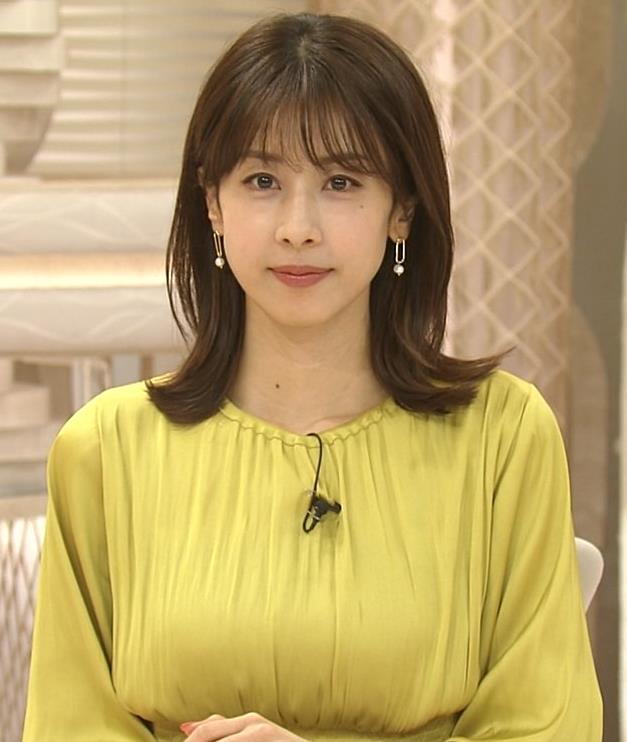 加藤綾子 胸のふくらみキャプ・エロ画像8