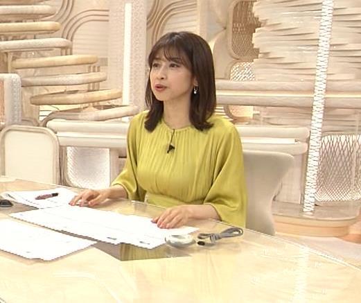加藤綾子 胸のふくらみキャプ・エロ画像9