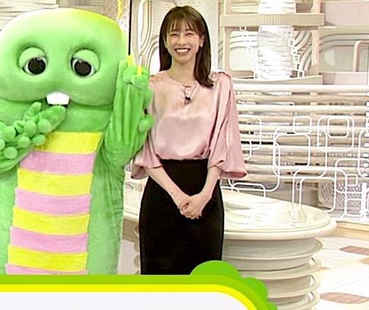 加藤綾子アナ ピンクの衣装キャプ・エロ画像2