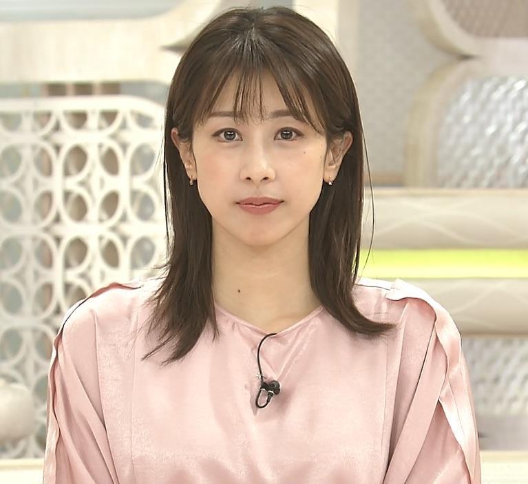 加藤綾子アナ ピンクの衣装キャプ・エロ画像5