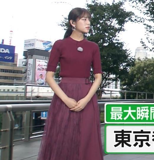 貴島明日香 細身ニットおっぱいキャプ・エロ画像