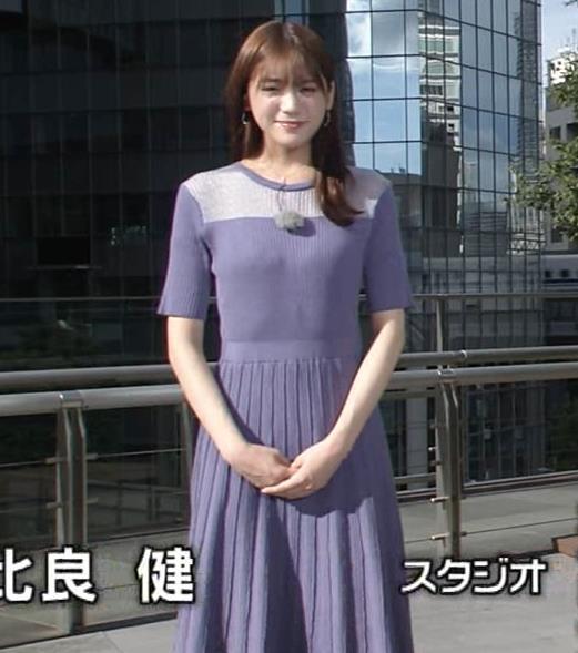 貴島明日香 紫のワンピースキャプ・エロ画像4