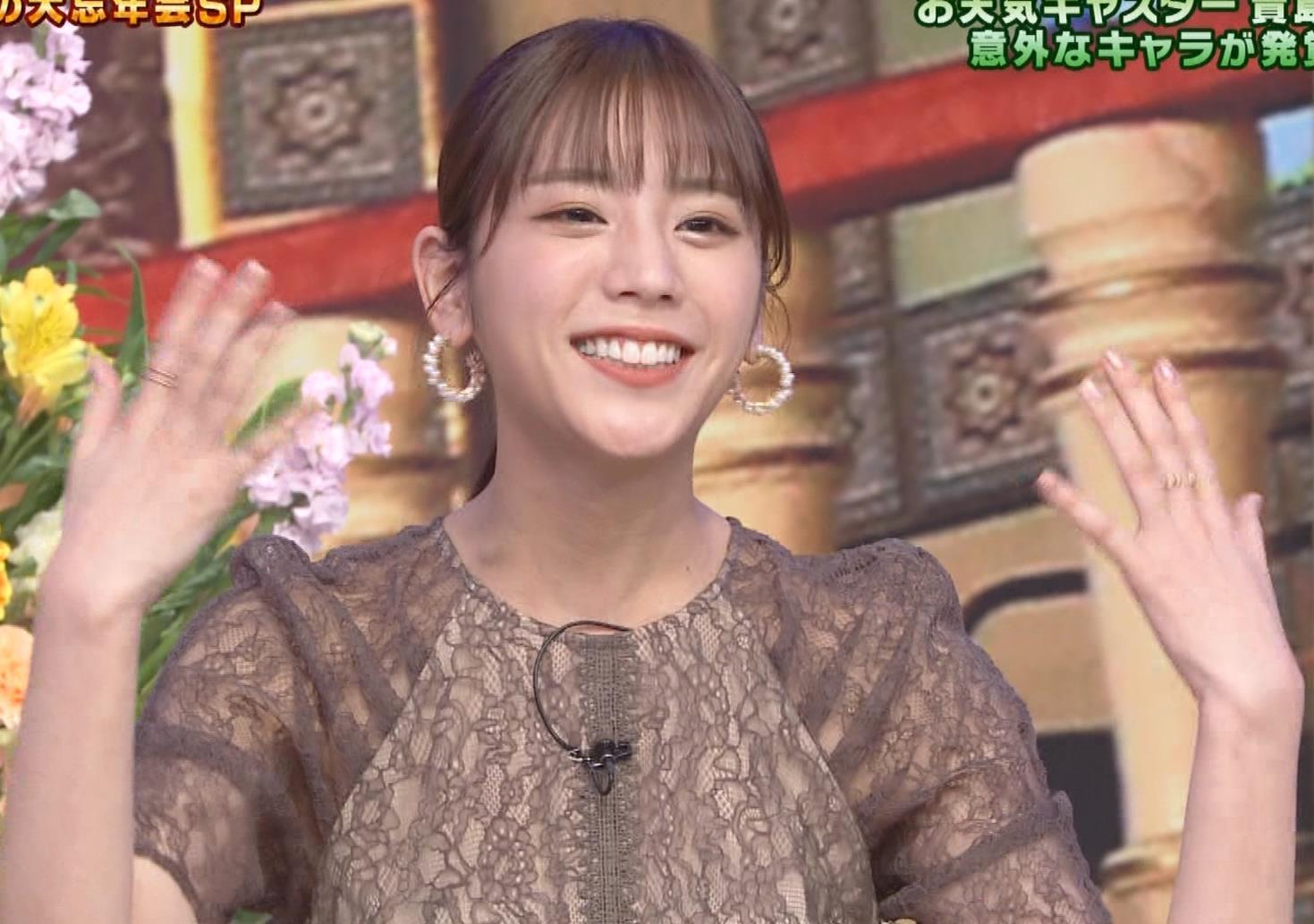 貴島明日香 透け衣装キャプ・エロ画像6