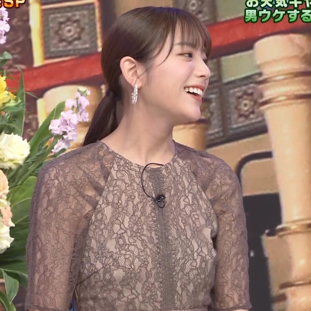 貴島明日香 透け衣装キャプ・エロ画像9