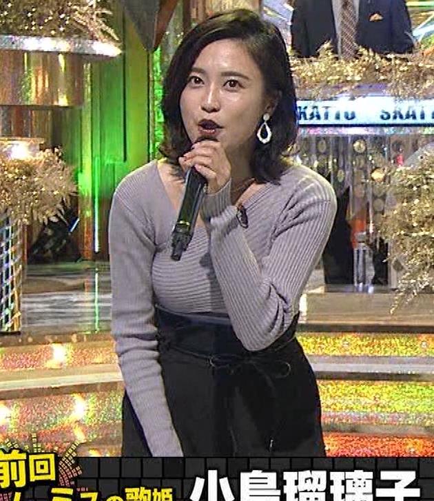 小島瑠璃子 おっぱいが揺れるカラオケ番組[動画]キャプ・エロ画像13