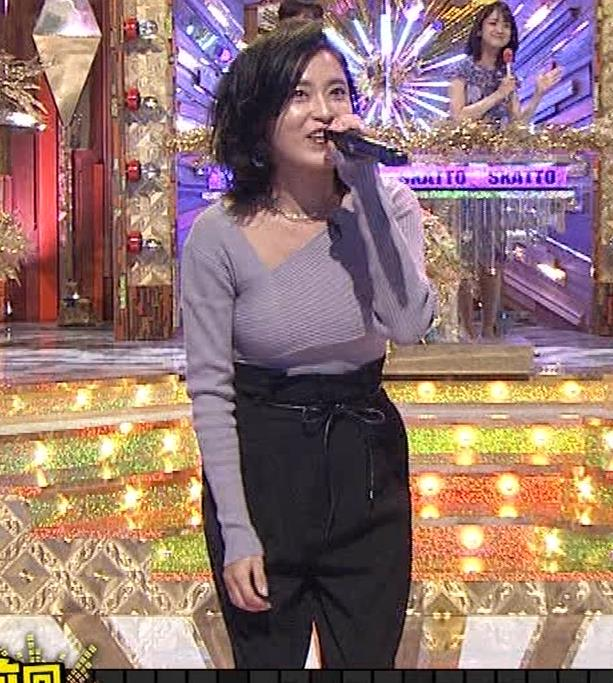 小島瑠璃子 おっぱいが揺れるカラオケ番組[動画]キャプ・エロ画像5