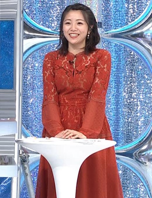 黒木千晶アナ キャミ透け衣装キャプ・エロ画像