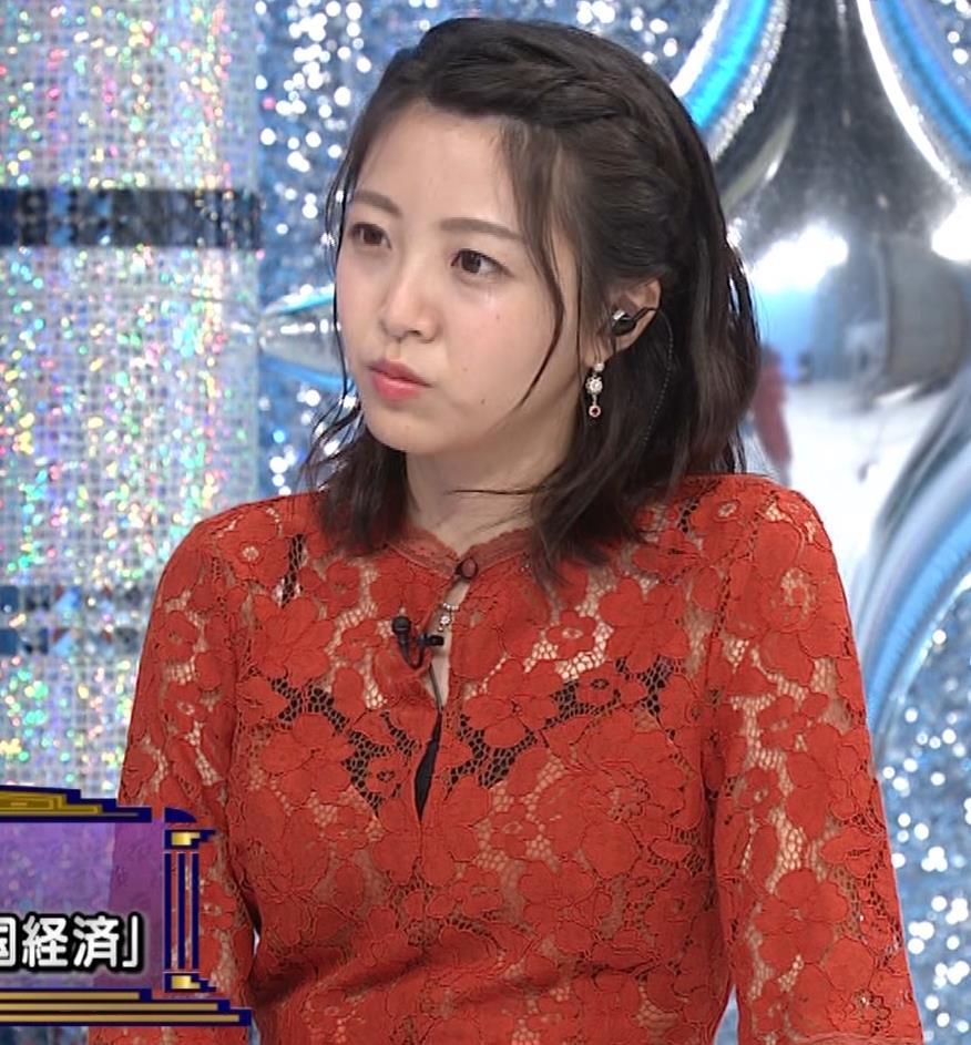 黒木千晶アナ キャミ透け衣装キャプ・エロ画像4