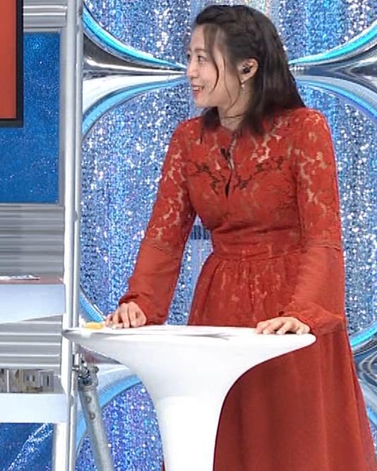 黒木千晶アナ キャミ透け衣装キャプ・エロ画像5