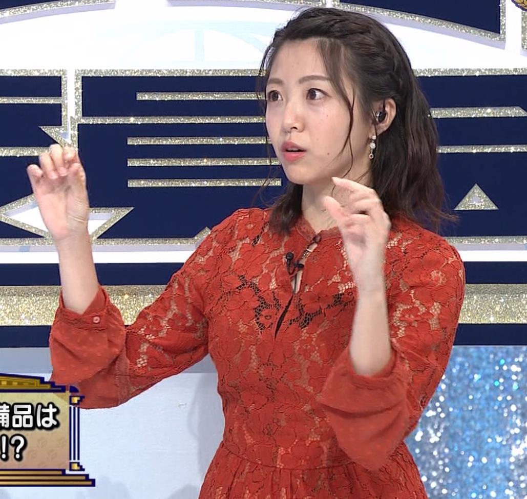 黒木千晶アナ キャミ透け衣装キャプ・エロ画像6