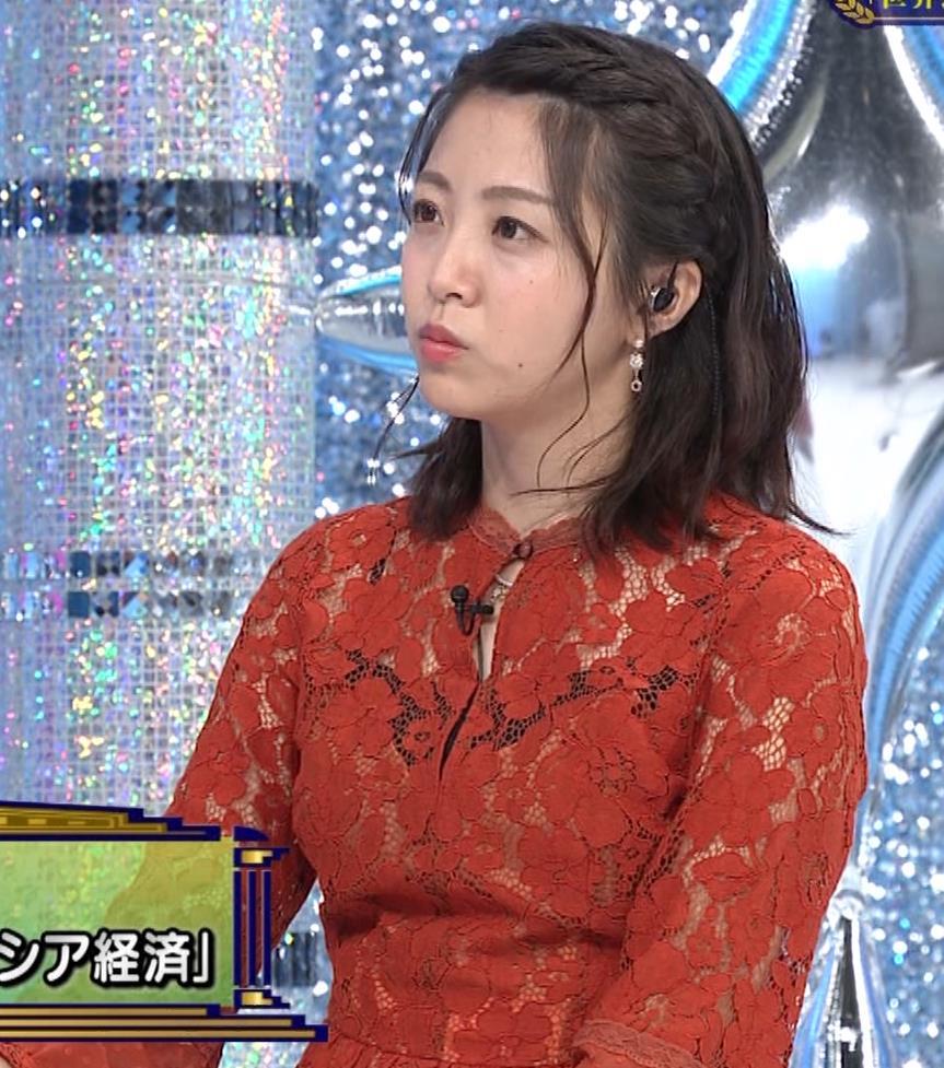 黒木千晶アナ キャミ透け衣装キャプ・エロ画像7