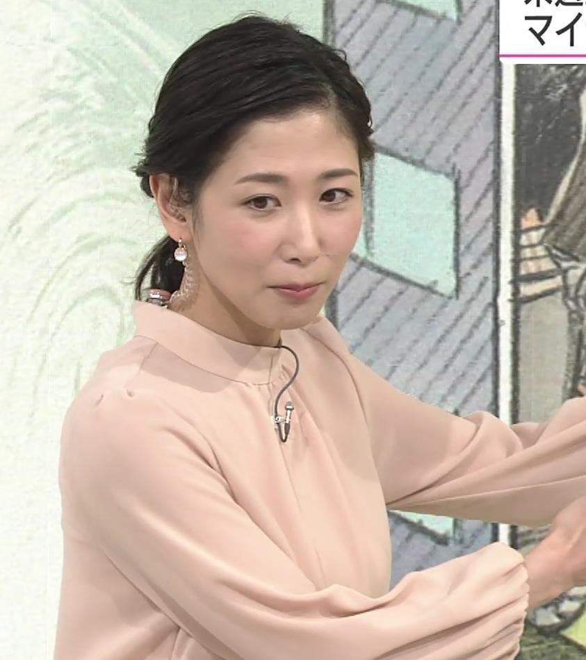 桑子真帆アナ ゆったりしたでも目立つ巨乳キャプ・エロ画像
