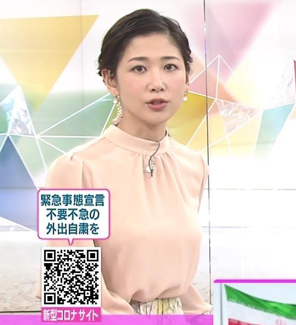 桑子真帆アナ ゆったりしたでも目立つ巨乳キャプ・エロ画像3