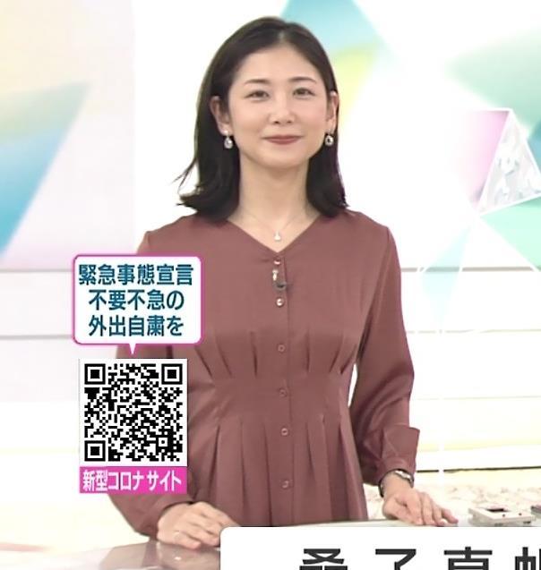 桑子真帆アナ 朝からエロいおっぱいキャプ・エロ画像