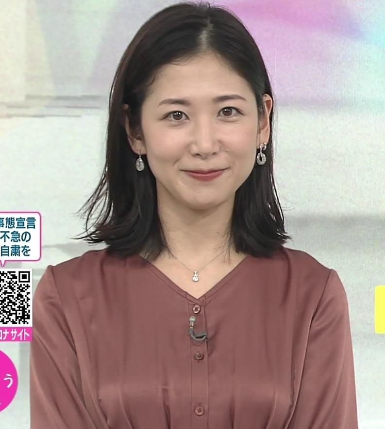 桑子真帆アナ 朝からエロいおっぱいキャプ・エロ画像3