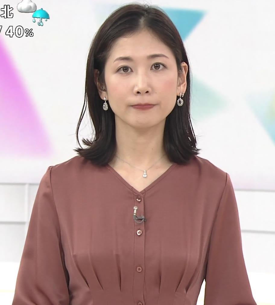 桑子真帆アナ 朝からエロいおっぱいキャプ・エロ画像6