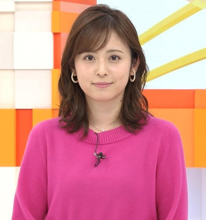 久慈暁子アナ ちっぱいだけどエロいニットおっぱいキャプ・エロ画像4