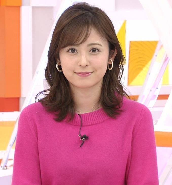 久慈暁子アナ ちっぱいだけどエロいニットおっぱいキャプ・エロ画像6