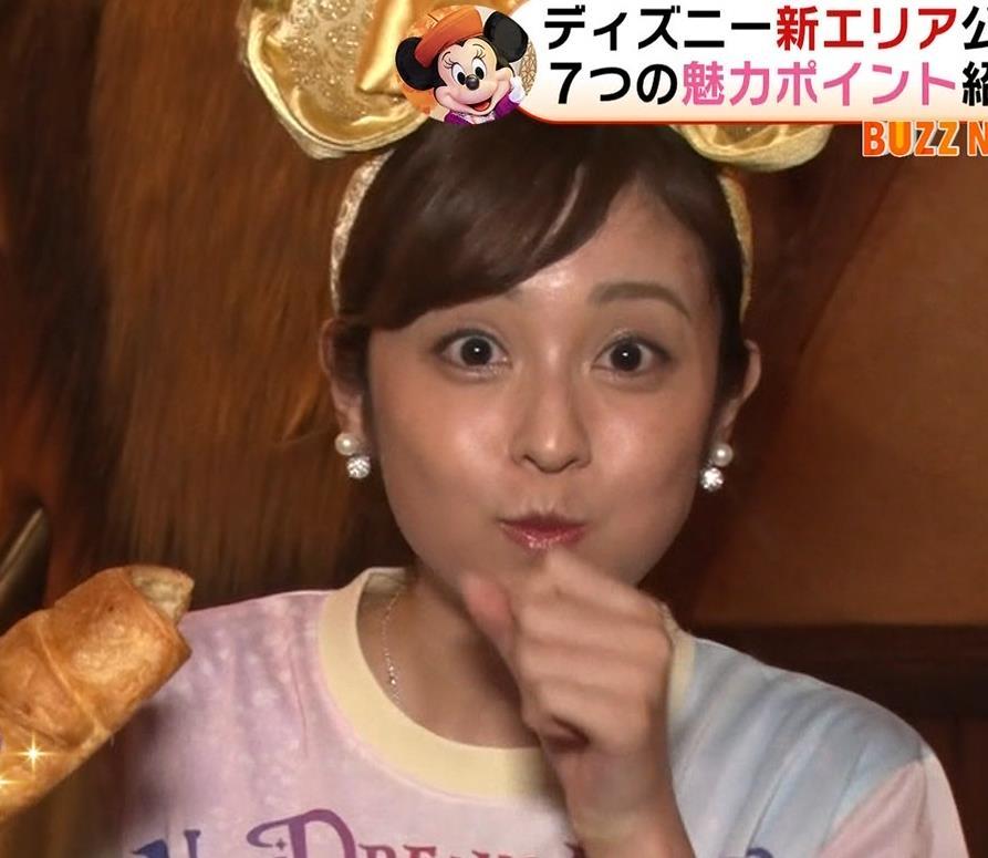 久慈暁子アナ ニットおっぱいキャプ・エロ画像7