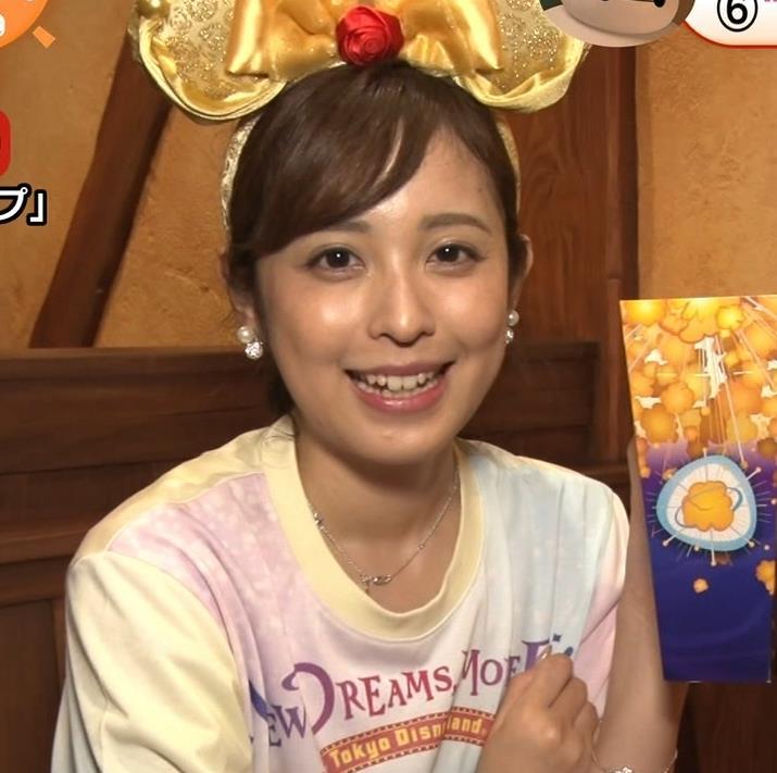 久慈暁子アナ ニットおっぱいキャプ・エロ画像8