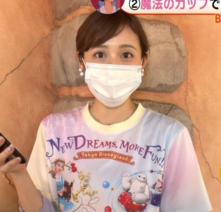 久慈暁子アナ ニットおっぱいキャプ・エロ画像9