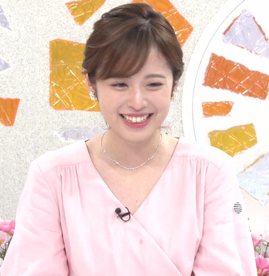 久慈暁子アナ ピンクのワンピースキャプ・エロ画像6