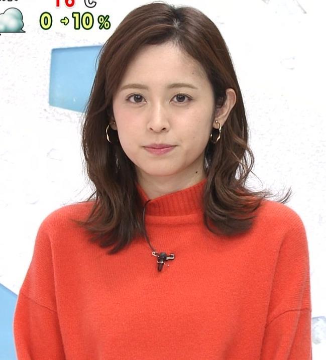 久慈暁子アナ 横乳、デカくなってる?キャプ・エロ画像