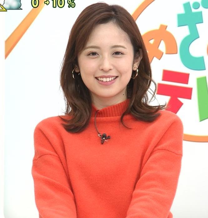 久慈暁子アナ 横乳、デカくなってる?キャプ・エロ画像2