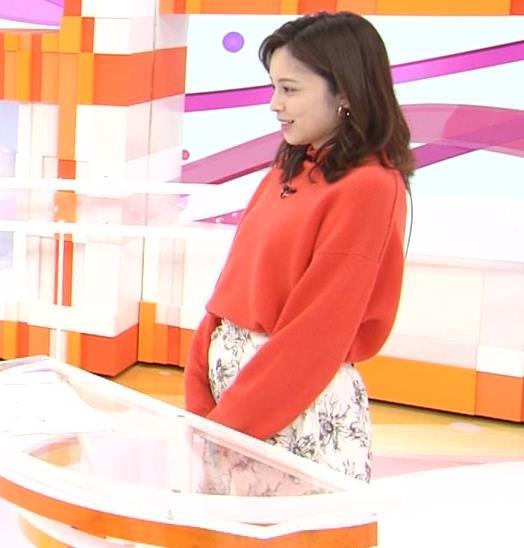久慈暁子アナ 横乳、デカくなってる?キャプ・エロ画像4