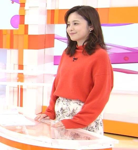 久慈暁子アナ 横乳、デカくなってる?キャプ・エロ画像6