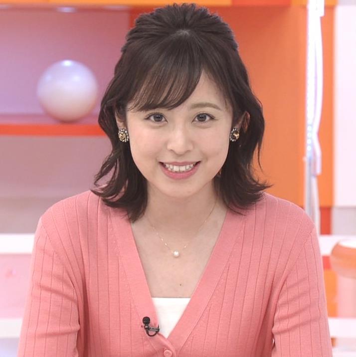 久慈暁子 美人女子アナのニット乳キャプ・エロ画像2