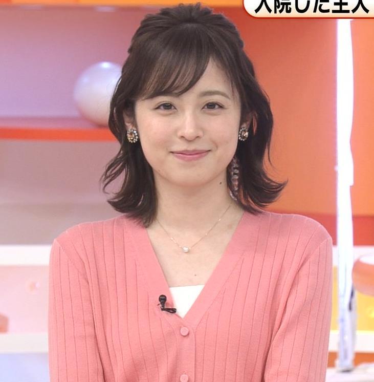 久慈暁子 美人女子アナのニット乳キャプ・エロ画像3