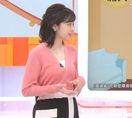 久慈暁子 美人女子アナのニット乳キャプ・エロ画像4