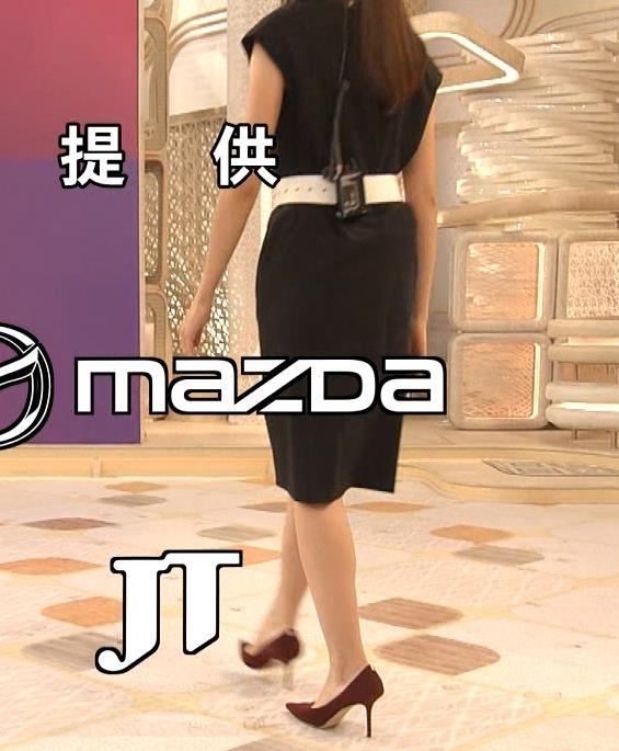 三田友梨佳アナ 夜のセクシーなニュース番組キャプ・エロ画像4